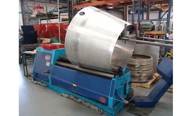 Weldmac has the capability to form sheet metal parts of all shapes and sizes.