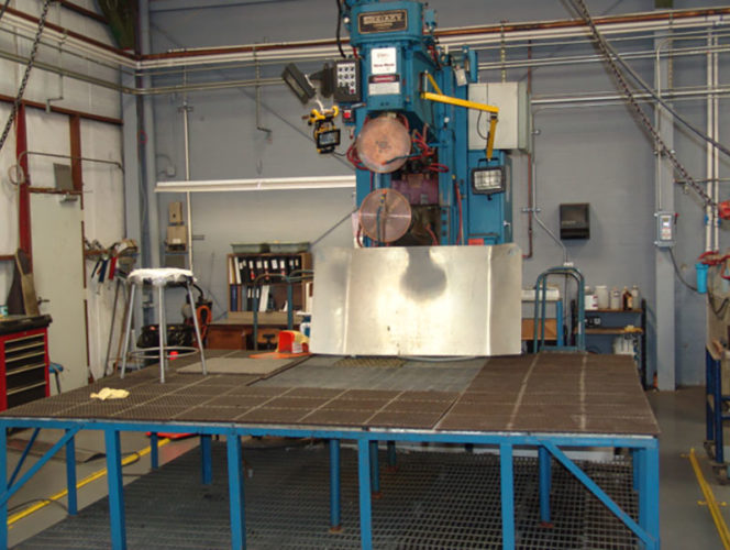 Weldmac has the equipment and expertise to perform all kinds of welding.